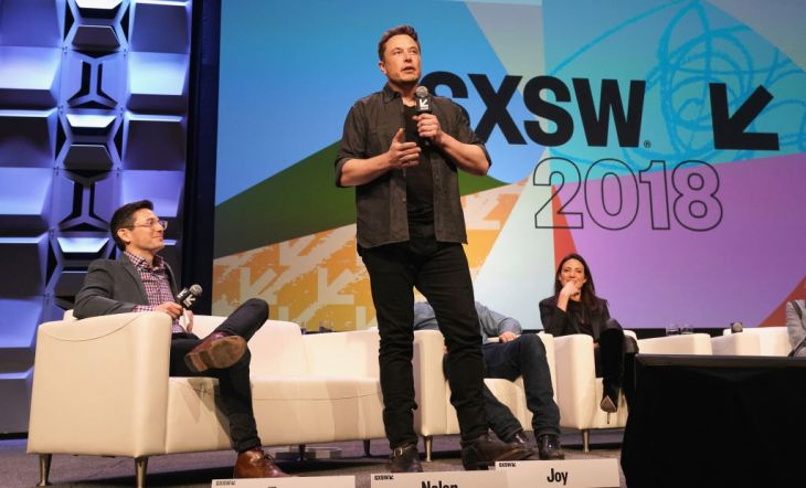 speaks onstage during SXSW at Austin Convention Center on March 10, 2018 in Austin, Texas.